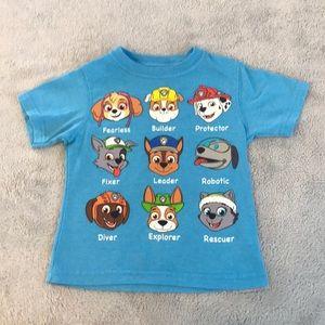 Nickelodeon 2t Paw Patrol shirt